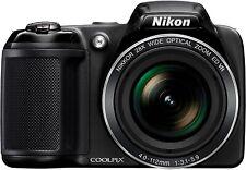 Nikon Coolpix L340 20.2 MP Digital Camera 28x Optical Zoom Great Condition w/ SD