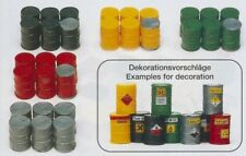 Preiser 17101 Metal Barrels 30 Piece Kit H0