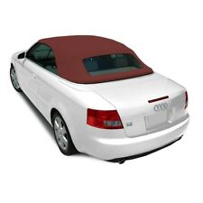 Audi A4 Convertible Soft Top & Heated Glass window Burgundy Bordeaux STF Cloth