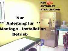 Anleitung für KSG 115-119 AUTOKLAV Hochdruck-STERILISATOREN**DOWNLOAD=portofrei