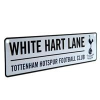Tottenham Hotspur Fc Spurs Window Sign White Hart Lane Football Team Plaque New