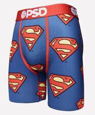 Brand New Men's PSD Superman Print Boxer Briefs Sz Medium $25 Value
