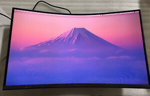 """SAMSUNG 32"""" Class Curved C32T550FDN 1000R Monitor, Built In Speaker-LC32T550FDN"""