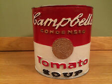 "STEVE KAUFMAN ""ALL"" original CAMPBELL'S SOUP CAN SCULPTURE SIGNED COA painting"