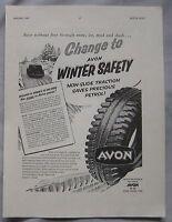 1957 Avon Tyres Original advert No.1
