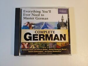 Complete German by Transparent Language Software Windows PC or Mac CD-ROM