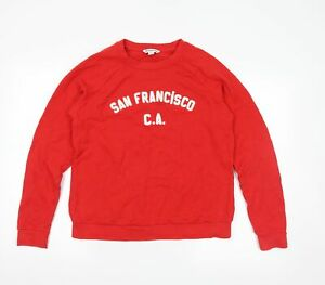 Whistles Womens Red   Pullover Sweatshirt Size S
