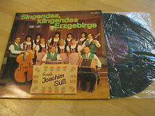 LP Singendes, klingendes Erzgebirge Joachim Süß Ensemble Vinyl AMIGA DDR 845179