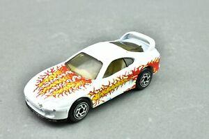 White Matchbox 1994 Toyota Supra Turbo Diecast Model