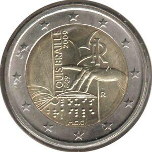 IT20009.1 - ITALIE - 2 euros commémo. Louis Braille - 2009