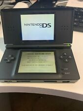 Nintendo DS Lite Black Handheld System  with 6 games