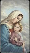 "santino-holy card""""ediz. NB serie RE  n.1210 MATER DEI"