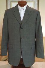 Stunning NEW Canali Mens Gray 3 Btn Wool Dual Vent Blazer Sz 44 L