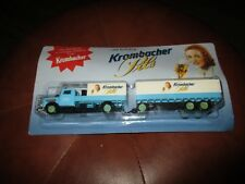 Camion poids lourd&remorque-publicitaire-Bière Allemande-Collector-Neuf-20,2cm