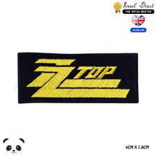ZZ Top Music Band Embroidered Iron On Sew On PatchBadge For Clothes etc