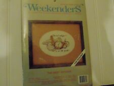"""Weekenders Counted Cross Stitch kit - The Best Antique 7' x 5"""" 02772"""