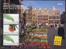 NEW ZEALAND :2006 Belgica 06  Exhibition  Min.Sheet  SGMS2924 MNH