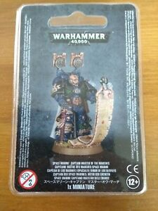 WARHAMMER 40K SPACE MARINE CAPTAIN MASTER OF THE MARCHES BNIB OOP