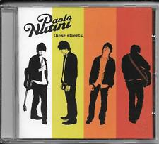 CD PAOLO NUTINI 'THESE STREETS' NUOVO/NEW/OVP