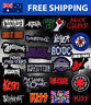 Rock Band Music Embroidered Patches - Rockband Embroidery Patch Badge Iron Sew