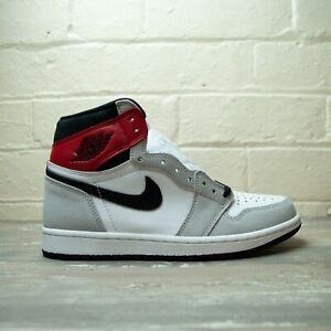 Nike Air Jordan 1 Retro High Light Smoke Grey 555088 126 UK 12 EU 47.5 US 13