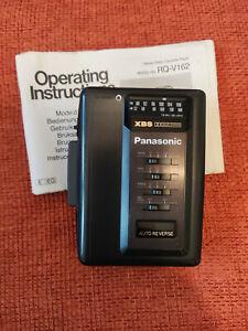 Panasonic RQ-V162 Walkman Radio Tape Cassette Player with Case