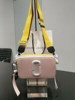 Marc Jacobs Ceramic Snapshot Small Camera Bag Crossbody Blush Multi - Authentic
