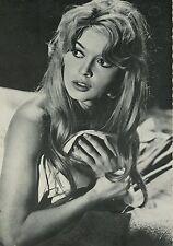 BRIGITTE BARDOT 60s VINTAGE POSTCARD #14