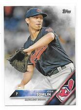 2016 Topps #693 Josh Tomlin Cleveland Indians 6 card lot