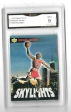 Michael Jordan 1993-94 Upper Deck Skylights iconic Graded psa gma Mint 9 L👀K