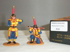 KING AND COUNTRY IC32 IMPERIAL CHINESE ARMY MAKING READY FOR BATTLE FIGURE SET