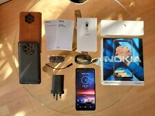 Nokia 9 PureView - 128GB Indigo Blue (Factory Unlocked) Android 10 ONE + Extras!