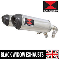 ST1100 ST 1100 Pan European Exhaust Stainless Steel Silencer End Can Round 300ST