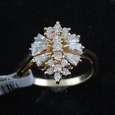 Nyjewel BRANDNEU 14k Gelbgold gut Design 1.5ct Diamanten Ring