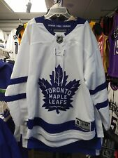 Youth L/XL Ages 14/16 Toronto Maple Leafs Away Premier White Hockey Jersey Crest