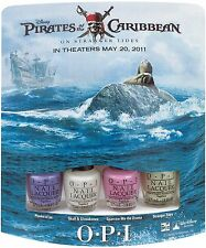 OPI Nail Polish *PIRATES OF THE CARIBBEAN*  Set Of 4 Minis~ New in Box & VHTF!