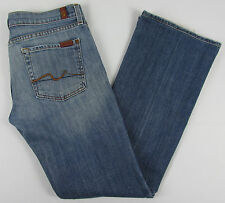 Womens 7 For all Mankind Boot cut jeans USA Made Blue Size 29