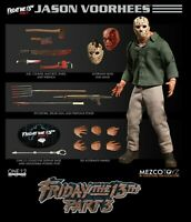Mezco ONE:12 Collective JASON VOORHEES - Friday The 13th Part III 3 Mint in Box