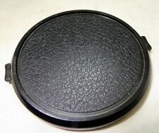 Black Front Lens Cap 67mm Snap on type vintage used