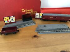 Triang R23 Operating Royal Mail Coach Set Vintage 1950's In Original Box