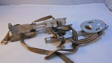 Lot of 2, Vintage Antique Strap-on Children's Ice Skates