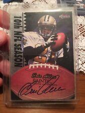 Eric Allen AUTOGRAPH New Orleans Saints 1997 Pro Line Score Board Memorabilia