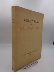 Contes choisis de J.F. Demachy illustré par Georges Villa 1930