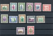 NORTH BORNEO STAMPS SCOTT 193-205 MINT MH CV $241 LOT 58