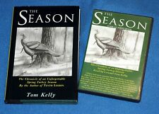 """Turkey hunting book,Tom Kelly's """"The Season"""" signed and Audio Book (Cd)."""