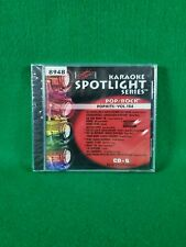 Karaoke Spotlight Series CD+G Sound Choice Disc 8948 Pop Hits Vol. 184