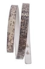 Agnona Correa 75 -  Piel de serpiente   84,5 cm x 1,5 cm
