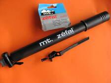 MT. Zéfal classique MTB Aluminium Pump pompe 30x300 mm Noir Schrader/presta NEUF