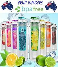 800 ml Fruit Infuser Water Bottle BPA Free Sporting Outdoor Juice Infusion