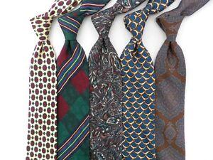 Lot of 5 Silk Ties.